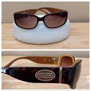 "Coach ""Addison"" Sunglasses with Coach Case"